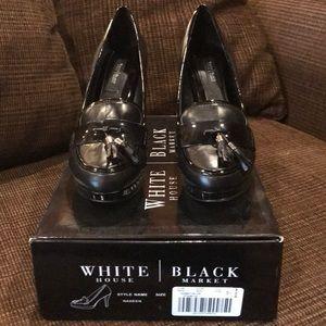 White House Black Market WHBM Nadeen Tassel size 7